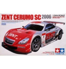 TAMIYA 24303 Samochód Zent Cerumo Lexus SC 2006