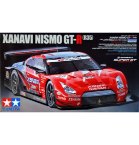 TAMIYA 24308 Samochód Xanavi Nismo GT-R (R35)