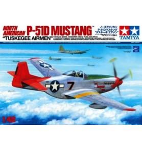 TAMIYA 25147 Myśliwiec North American P-51D Mustang 1/48