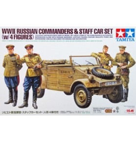 TAMIYA 25153 Figurki Rosyjscy dowódcy