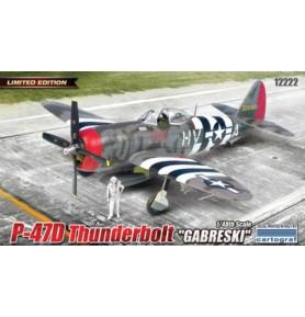 ACADEMY 12222 Jednomiejscowy samolot myśliwski i myśliwsko-szturmowy P-47D Gabrski
