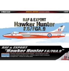 ACADEMY 12312 Odrzutowy samolot myśliwsko-bombowy Hawker Hunter