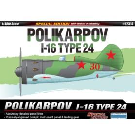 ACADEMY 12313 Samolot myśliwsko-bombowy I-16