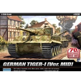 ACADEMY 13287 Ciężki czołg Tiger I Mid