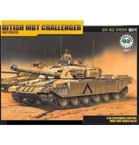 ACADEMY 13309 Brytyjski czołg Challanger z napędem