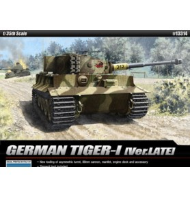 ACADEMY 13314 Lekki czołg Tiger I Late Version