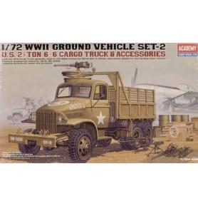 ACADEMY 13402 Samochód ciężarowy 2,5 6x6 Cargo
