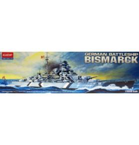 ACADEMY 14218 Pancernik Bismarck