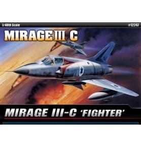ACADEMY 1622 Myśliwiec Mirage III-C