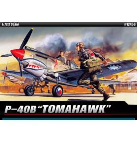 ACADEMY 1655 Samolot myśliwski P-40B Tomahawk