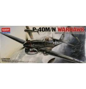 ACADEMY 1668 Samolot myśliwski P-40 Warhawk