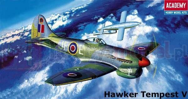 ACADEMY 1669 Myśliwiec Hawker Tempest