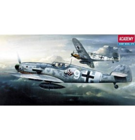ACADEMY 1670 Samolot myśliwski BF-109G