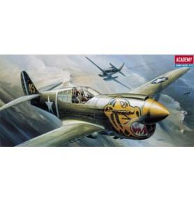 ACADEMY 1671 Samolot myśliwski P-40E Warhawk