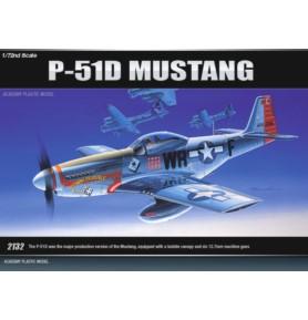 ACADEMY 2132 Samolot myśliwski P-51D Mustang