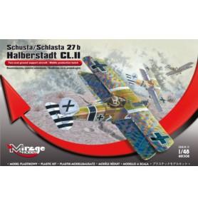 MIRAGE 481308 Samolot Halberstadt CL II w. średnia
