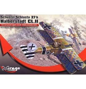 MIRAGE 481401 Samolot Halberstadt Cl.II
