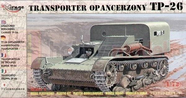 MIRAGE 72608 Transponter Opancerzony TP-26