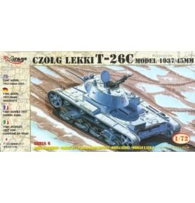 MIRAGE 72612 Lekki czołg T-26C '39