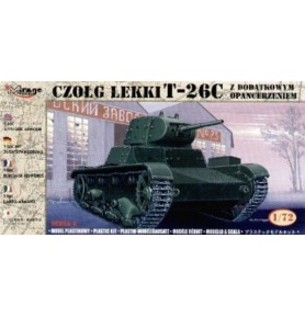 MIRAGE 72613 Lekki czołg T-26C Z Dodatk. Opanc.