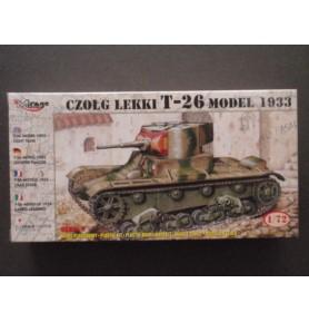 MIRAGE 72620 Lekki czołg T-26 Finland '45