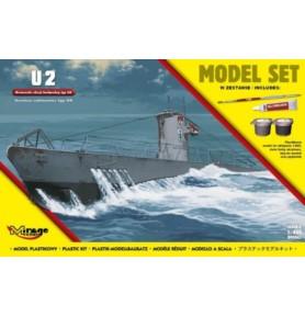 MIRAGE 840065 Okręt podwodny U-2