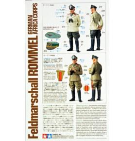 TAMIYA 36305 Figurki Feldmarszałek Rommel