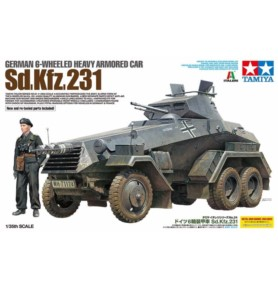 TAMIYA 37024 Pojazd Sd.Kfz.231