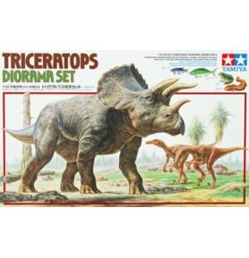 TAMIYA 60104 Zestaw dioramy triceratopsa