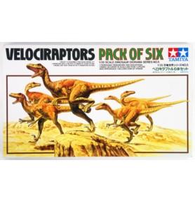 TAMIYA 60105 Zestaw dioramy welociraptorów