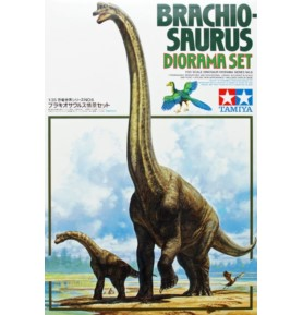 TAMIYA 60106 Zestaw dioramy brachiozaura