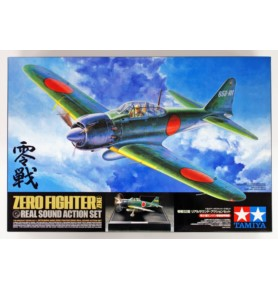 TAMIYA 60311 Myśliwiec Zero Fighter Zeke Real Sound Action