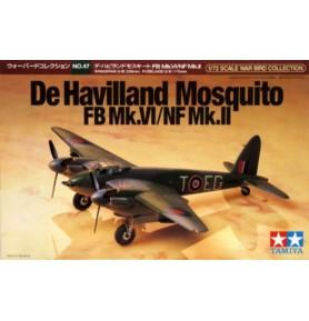 TAMIYA 60747 Wielozadaniowy De Havilland Mosquito FB Mk.IV/NF Mk.II