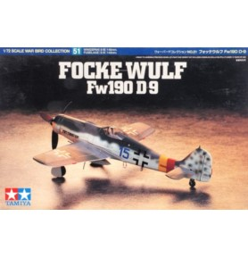 TAMIYA 60751 Myśliwiec Focke-Wulf Fw190 D-9