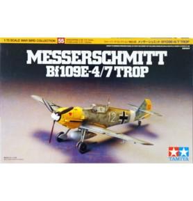 TAMIYA 60755 Myśliwiec Messerschmitt Bf109 E-4/7 Trop