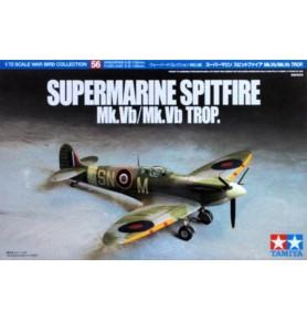 TAMIYA 60756 Myśliwiec Supermarine Spitfire Mk.Vb/Mk.Vb TROP