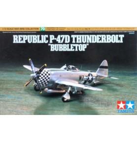 TAMIYA 60770 Myśliwiec Republic P-47D Thunderbolt Bubbletop