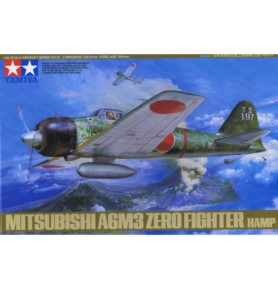 TAMIYA 61025 Myśliwiec Mitsubishi A6M3 Type32 Zero Fighter