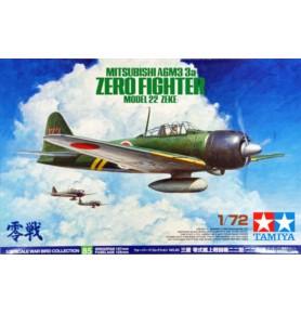 TAMIYA 60785 Myśliwiec Mitsubishi A6M3/3a Zero Fighter M. 22