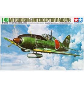 TAMIYA 61018 Myśliwiec Mitsubishi J2M3 Interceptor Raiden