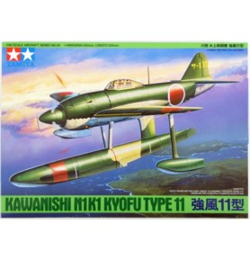 TAMIYA 61036 Myśliwiec Kawanishi N1K1 Kyofu Type 11