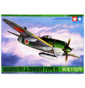 TAMIYA 61038 Myśliwiec Kawanishi N1K1-Ja Shiden Type 11