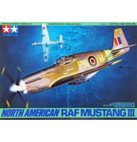TAMIYA 61047 Myśliwiec North American RAF Mustang III