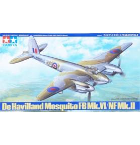 TAMIYA 61062 Wielozadaniowy De Havilland Mosquito FB Mk.VI/NF Mk.II