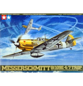 TAMIYA 61063 Myśliwiec Messerschmitt BF109E-4/7 Trop