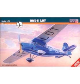 MISTERCRAFT B-84 Samolot RWD-5 LOT