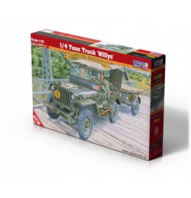 MISTERCRAFT D-299 Samochód 1/4 Tonn Truck Willys