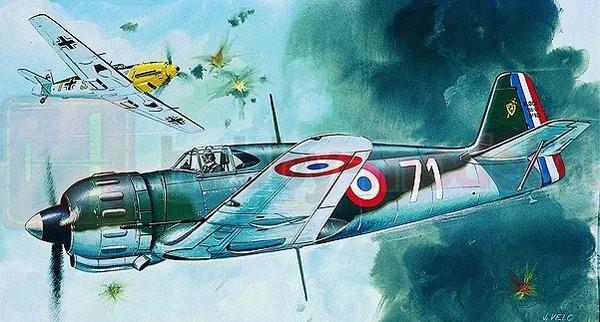 SMER0840 Samolot myśliwski Bloch MB-152