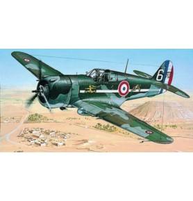 SMER0841 Samolot myśliwski Curtiss P-36/H75 Hawk