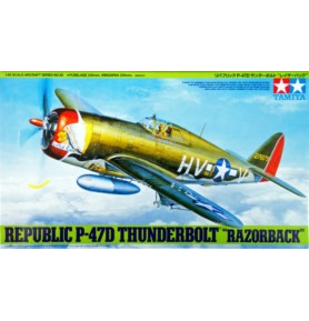 TAMIYA 61086 Myśliwiec Republic P-47D Thunderbolt Razorback